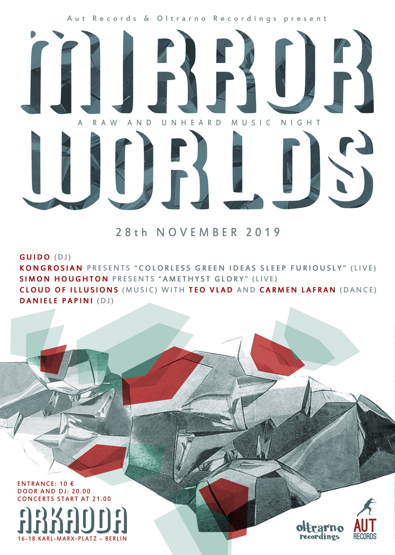 Mirror Worlds – A Raw and Unheard Music Night